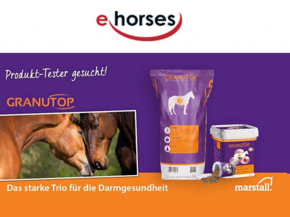 ehorses sucht Produkt-Tester für GRANUTOP